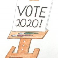 CALL TO ARTISTS: VOTE 2020! Artists Respond to Why Voting Matters