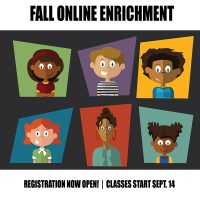 Fall 2020 Online Afterschool Creative Classes for Kids