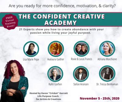 PROFESSIONAL DEVELOPMENT: The Confident Creative Academy