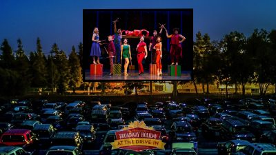 Broadway Holiday at the Drive-In | SOMO Village