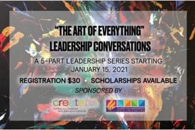 ARTS EDUCATION LEADERSHIP TRAINING