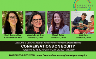 PROFESSIONAL DEVELOPMENT: Conversations on Equity (Jan 28 session POSTPONED)