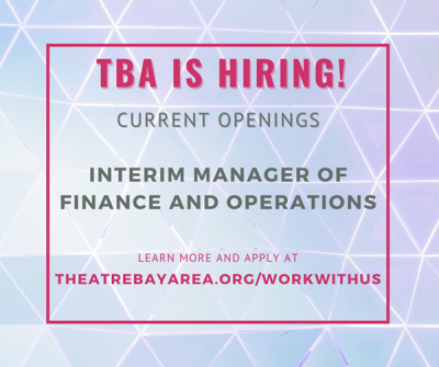 JOB OPPORTUNITY: Interim Manager of Finance and Operations
