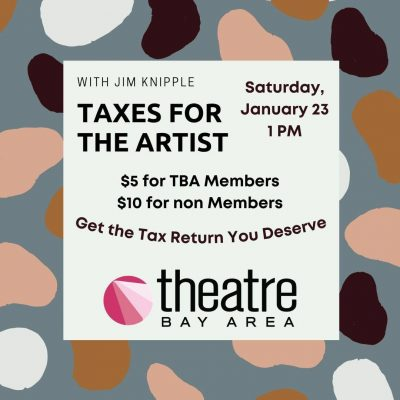 WORKSHOP: Taxes for the Artist