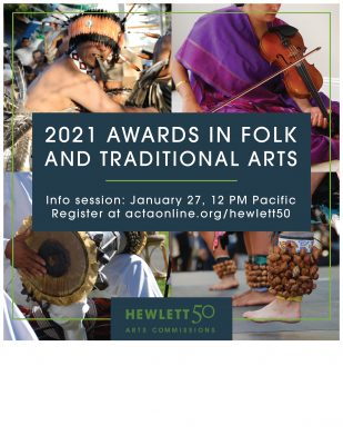 FUNDING OPPORTUNITY: Hewlett 50 Arts Commissions - Folk and Traditional Arts