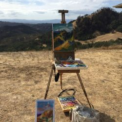 Painting Pepperwood's Landscapes