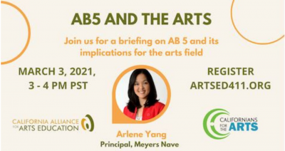 BRIEFING: AB5 and the Arts