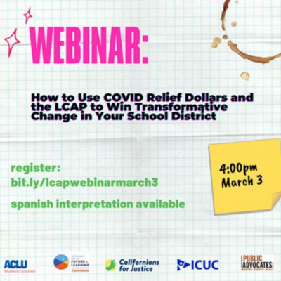 WEBINAR: How to Support Transformative Change in Your School District