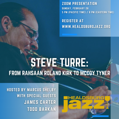 Steve Turre: From Rahsaan Roland Kirk to McCoy Tyn...