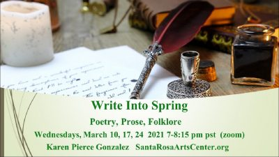 Write into Spring: March