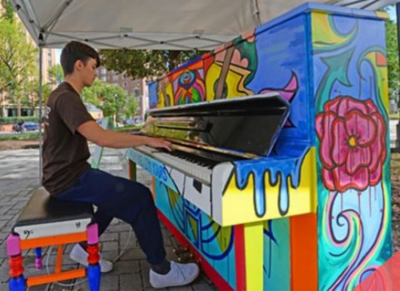 SEEKING ARTISTS: Painted Piano Project