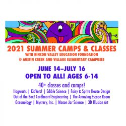 RVEF Summer Camps and Classes