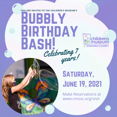 Bubbly Birthday Bash at the Children's Museum