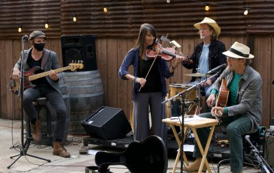 Back pOrchEstra ...Quintet! ...at Reel & Brand...