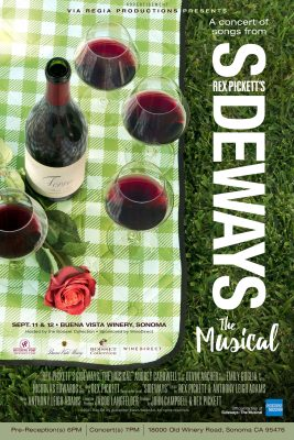 Call for Volunteers (Ushers/Greeters/Ticket-takers) for Sideways, The Musical Concerts