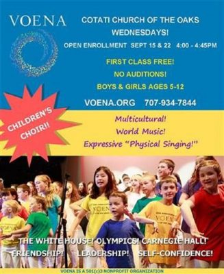 VOENA Multicultural Children's Choir Cotati - Open...