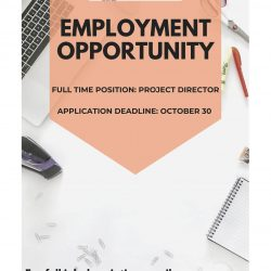 JOB OPPORTUNITY:  Project Director