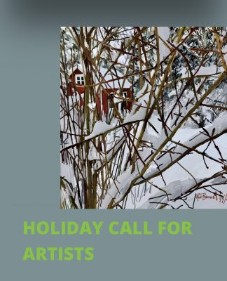 CALL FOR ARTISTS: 20th Annual Holiday Gift Market
