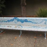 City Hall Art Bench