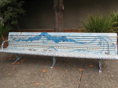 City Hall Art Bench
