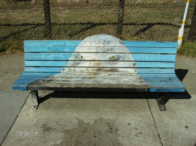 Delport Avenue Art Bench
