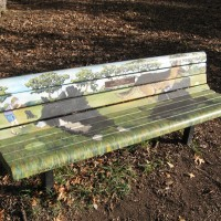 Doyle Park Art Bench