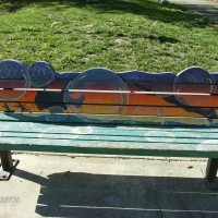 Dutton Meadows Art Bench