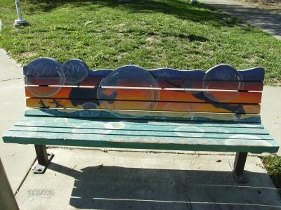 Dutton Meadows Art Bench