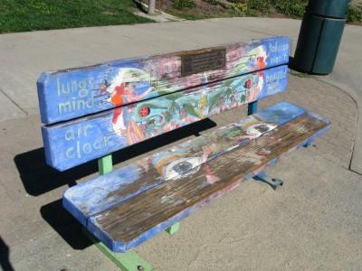 Finley Park Art Bench