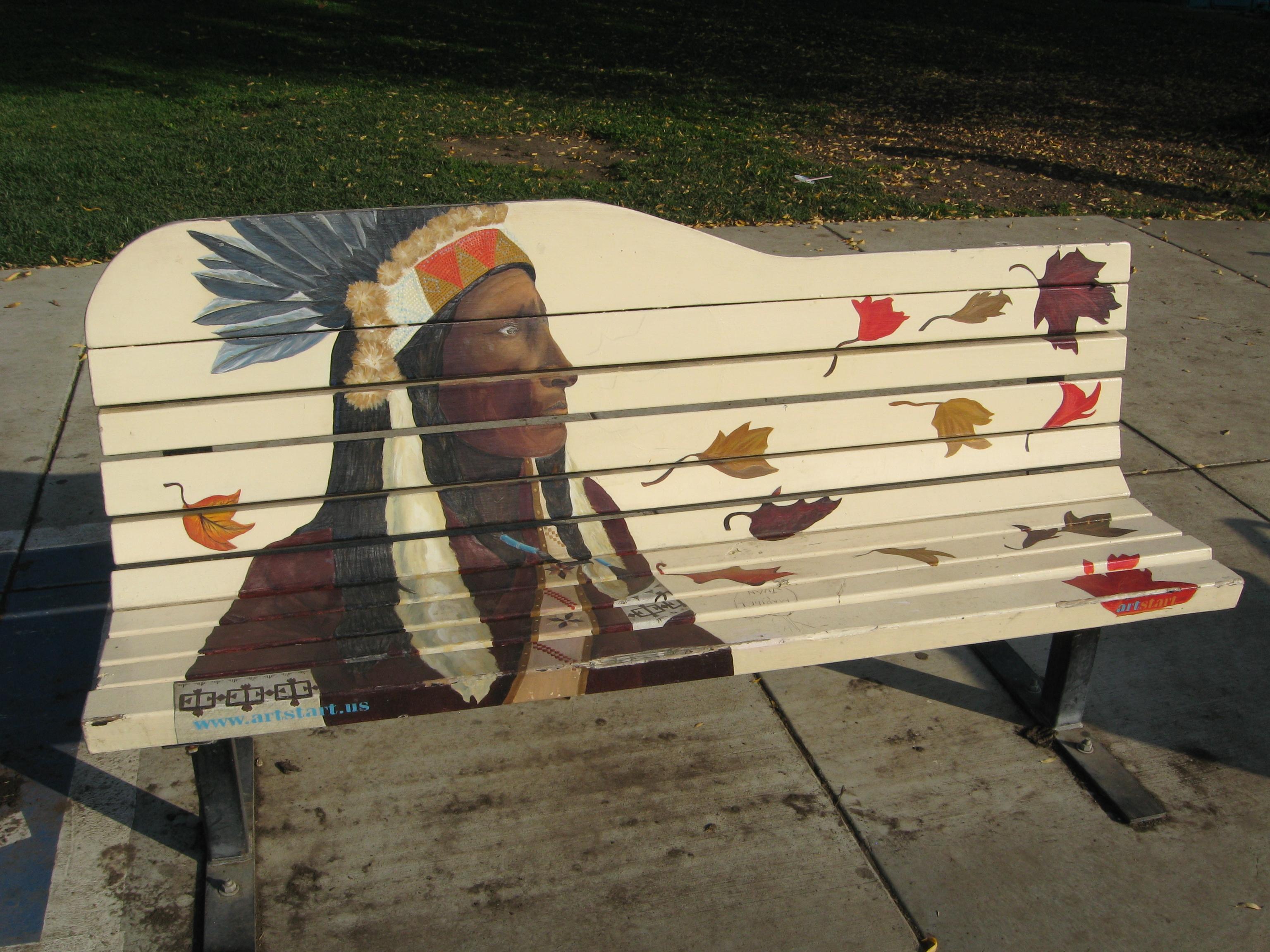 Franklin Park Art Bench
