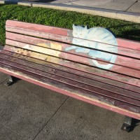 Hearn Avenue Art Bench