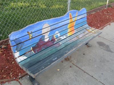 Hearn Avenue Art Bench,