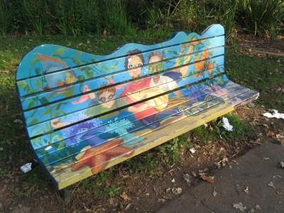 Humboldt Park Art Bench