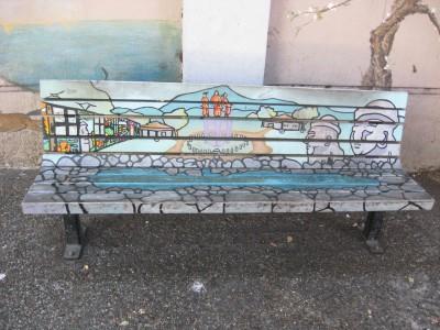 Jeju Way Art Bench