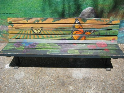 Jeju Way Art Bench