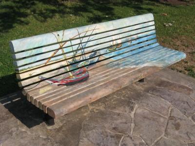Juilliard Park Art Bench