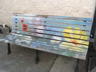 Montgomery Village Art Bench