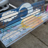 Montgomery Village Art Bench