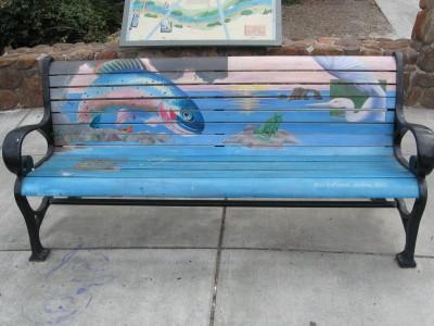 Prince Gateway Park Art Bench