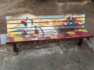 Prince Gateway Park Art Bench