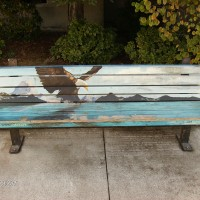 Santa Rosa Junior College Art Bench