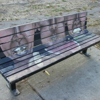Sebastopol Road Art Bench
