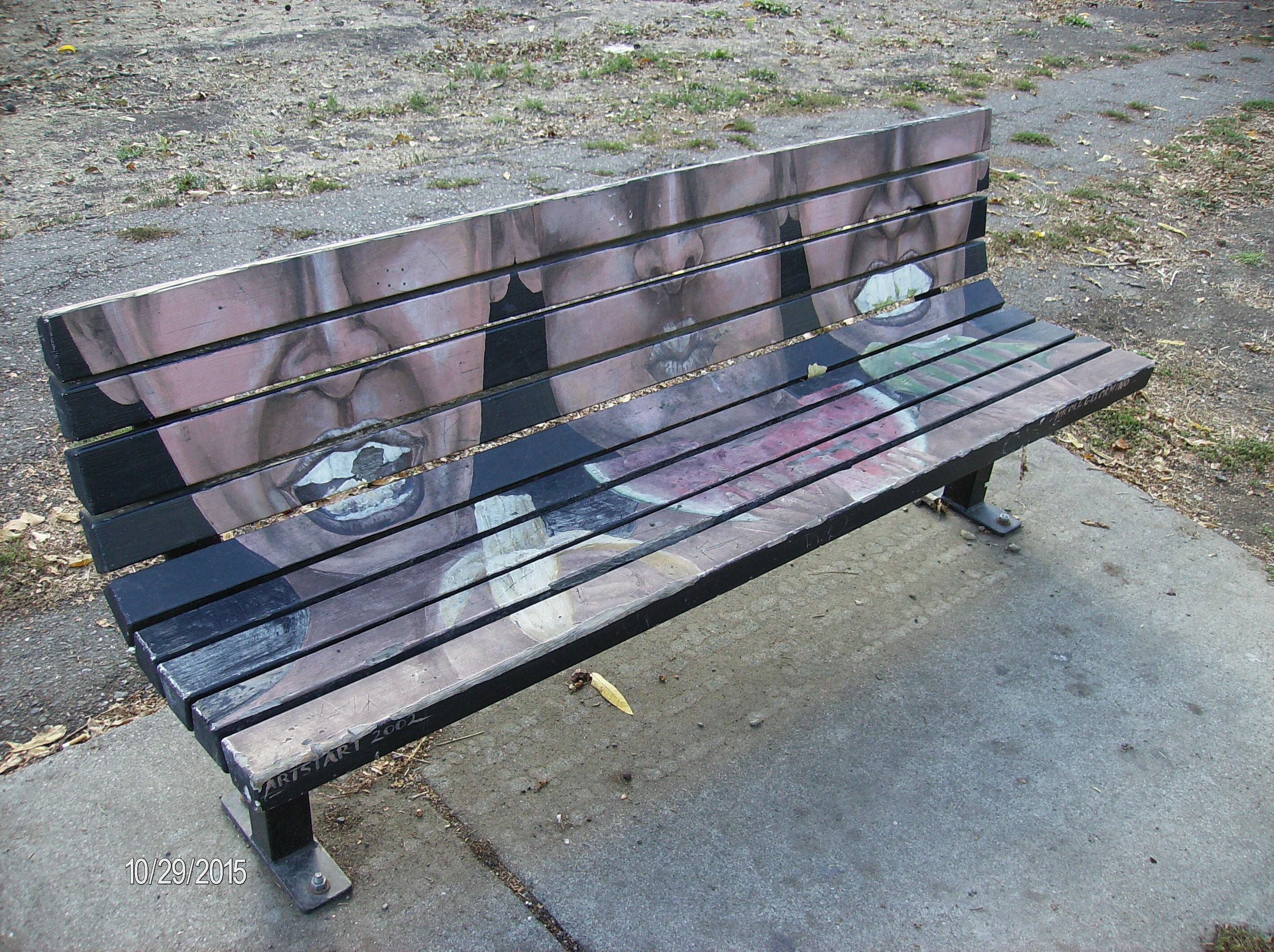 Sebastopol Road Art Bench