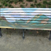 Sonoma County Museum Art Bench