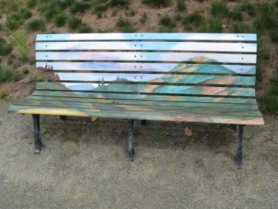 Sonoma County Museum Art Bench