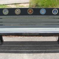 Veteran's Memorial Art Bench