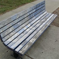 Wright Road Art Bench