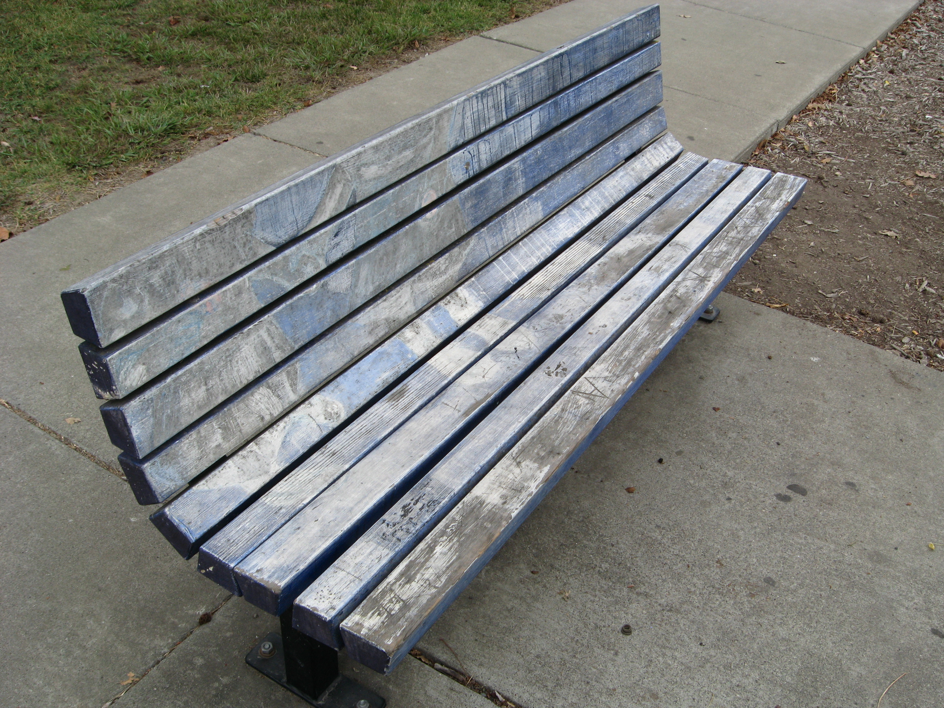 Wright Road Art Bench