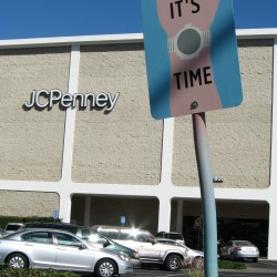 It's Time Art Sign