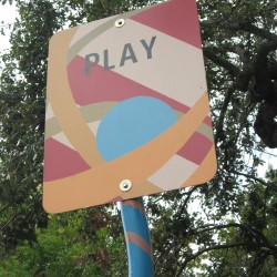 Play Art Sign